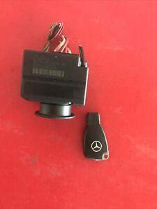 00-02 Mercedes W215 CL500 S500 S600 Ignition Switch Module w/Key 2155450008 OEM