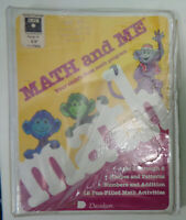Math and Me - Davidson & Associates, 1987 for Apple IIGs, IIc, IIe... NEW