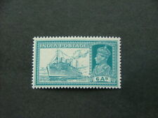 India KGVI 1937 6a turquoise-green SG256 LMM