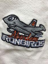 Aberdeen Ironbirds Minor League Baseball 100% Cotton White 2XL Polo Shirt