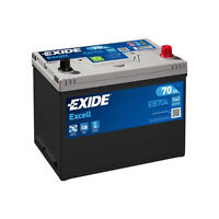 Exide Excell Car Battery 12V 35Ah Type 054 240CCA 3 Yrs Warranty Not Sealed