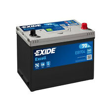 1x Exide Excell 70Ah 540CCA 12v Type 030 Car Battery 3 Year Warranty - EB704
