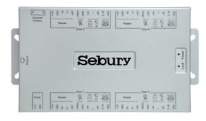 Sebury IC104 IP based 4 Door or Gate 12V DC Access Controller Board TCP/IP/LAN
