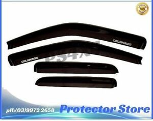 Superior Weathershields for Holden Colorado 2008-2011 Window Visors Weather Shie