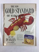 Vintage Durkee's Margarine Food Art Print Collectible Advertisement 10.5 x 14
