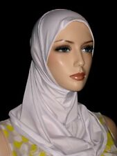 New white lycra hijab 1pc abaya Islam scarf chemo head cover scarf + more colors