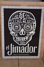 NEW El Jimador Sugar Skull Dia de los Muertos Day of the dead Tin Sign