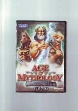 AGE OF MYTHOLOGY 1 - PC GAME - FAST POST - ORIGINAL EDITION WITH MANUAL - NTT