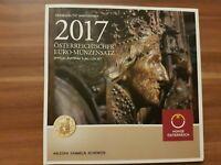 Offiz. KMS / Kursmünzensatz 1 Cent - 2 Euro Österreich 2017 * Hgh * im Blister