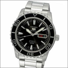 Seiko 41mm 5 Sports Automatic Watch with Stainless Steel Bracelet #SNZH55K1