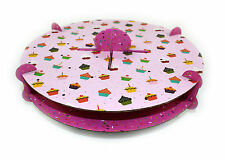 20 x NEW  CAKE POP DISPLAY STANDS PINK CARDBOARD HOLDER PARTY TABLE DECORATING