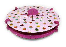 32 Cake Pops Soporte Soporte Decoración fácil montar Rosa Princesa De Fiesta Nuevo