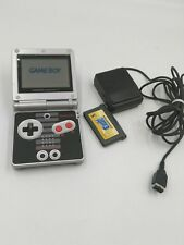 Nintendo Game Boy Advance,SP Classic NES Limited Edition Blk/Silver SuperMario 3
