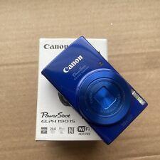 Canon PowerShot ELPH 190 IS / IXUS 180 20.0 MP Digital Camera - Blue Opened Box