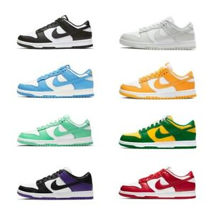 2021 Neu Dunk Low Retro Herren Damen Leather Sneaker Sport Schuhe Gr.36-45