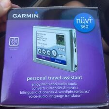 Garmin nuvi 360 USA Canada GPS NOS new Old Stock NIB NEW IN BOX Blue Tooth Phone