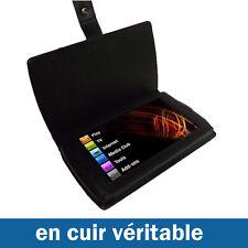 NOIR Etui Housse Case Cover en Cuir pour Archos 7 Android Home Tablette 8gb