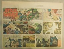 Star Wars Sunday Page #59 by Russ Manning from 4/20/1980 Large Half Page Size!