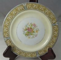 """Noritake Claire China Bread & Butter Plate Floral Center 6-3/8"""" Japan 657 103007"""