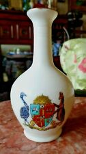 Crested China Willow Art Bud Vase with Australia Crest 10.8cm