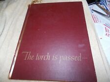 """Vintage Book: """"The Torch Is Passed"""" John F Kennedy JFK Assassination"""