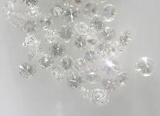 0.25cts 25pc 1.3mm VS-SI Clarity G-H Color Natural Loose Brilliant Cut Diamond