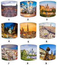 City Of Madrid Lampshades, Ideal To Match City Of Madrid Cushions & Covers