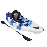 KAYAK SIT ON TOP FISHING TOURING KAYAKS - 5 ROD HOLDERS, DELUXE SEAT, PRO PADDLE