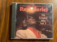Ray Charles His Greatest Hits Vol. 2 CD 1987 DCC