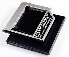 Opticaddy HDD/SSD Caddy+frontalino+scatola DVD HP EliteBook 2540p