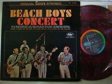 RED VINYL / THE BEACH BOYS CONCERT / STEREO JPN GATEFOLD COVER