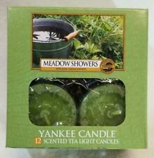 Yankee Candle 2x Boxes of Meadow Showers Tea lights Brand New VERY RARE VHTF