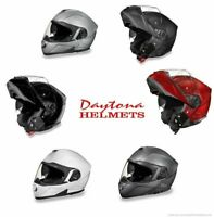 Daytona Helmets Daytona Glide Modular Flip Up Motorcycle Helmet Inner Shield Do