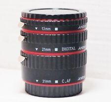 & EF Canon Digital EFS Fit Super Macro 1.1.mm Set 3 Step Lente per 550D 750D 70D
