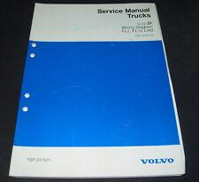 Service Manual Volvo Truck Typ FL7 / FL10 LHD Wiring Diagram Werkstatthandbuch!