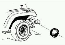 jeep WRANGLER YJ TJ '87-06 FRONT BUMPER FRAME END CAPS 🌟New🌟