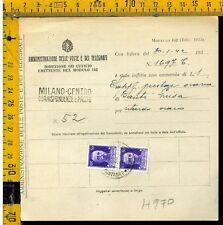 Regno Imperiale su multa al postino H 970