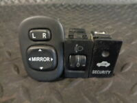 2003 TOYOTA CELICA 1.8 VVTi 3DR HEADLIGHT & WING MIRROR SWITCHES