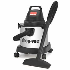 Shop-Vac 4 Gallon 3.0 Peak HP Stainless Steel Wet/Dry Vacuum
