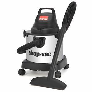 Shop-Vac 4 Gallon 3.0 Peak HP Stainless Steel Wet/Dry Vacuum