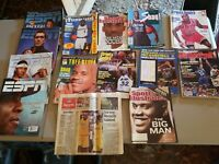 Lot of 15 1990's Sporting Magazines Michael Jordan Shaq & early 2000's ESPN