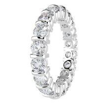 2.00ct rund Diamond Bar Set Voll Eternity Ring, Platin