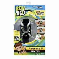 Ben 10 Deluxe Omnitrix Role Play Watch Toy 100+ Alien Phrases And Sounds