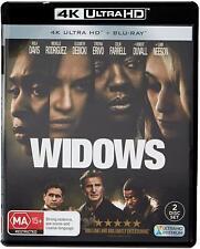 Widows (4K Ultra HD + Blu-ray), NEW SEALED AUSTRALIAN RELEASE