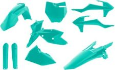 Acerbis Complete Plastic Kit Teal For KTM 125-450 SX SXF XC XCF 2421060213