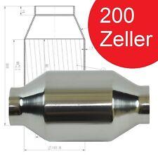 EDELSTAHL 200 ZELLER - 2 Zoll - SPORTKAT RENNKAT METALLKAT | UNIVERSAL
