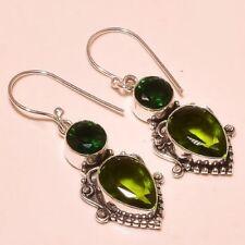 Topaz Handmade Fine Gemstone Earrings