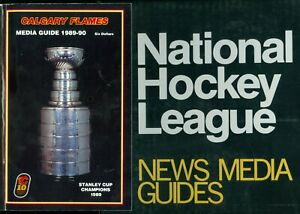 1990 TO 1993 NEWS MEDIA GUIDES RECORD BOOK YEARBOOK NHL HOCKEY GUIDE SEE LIST