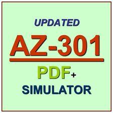 Latest AZ-301 Verified Practice Test Exam QA SIM PDF+Simulator
