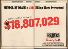 MURDER BY DEATH__Original 1976 Trade AD promo / poster__PETER FALK_TRUMAN CAPOTE